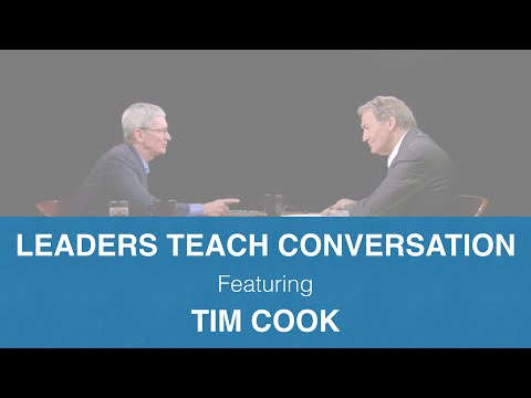 Learn how to speak professional English fluently from the CEO of Apple.