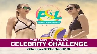 Highlights: Team Rachel vs. Team Denden | PSL Beach Volleyball Challenge Cup 2017