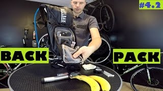 How to pack your bag for bike ride - 1,4 kg essentials with Camelbak Rogue.