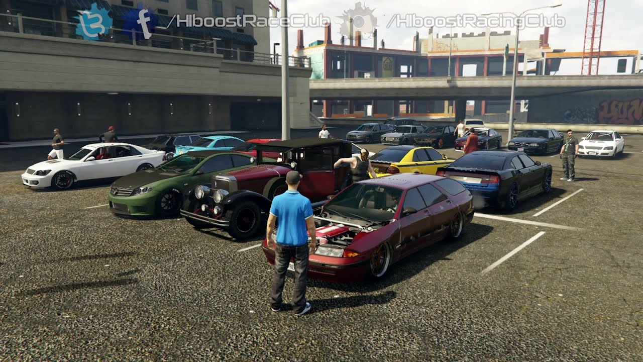 Grand Theft Auto V Online Sedan Meet Buffalo Build