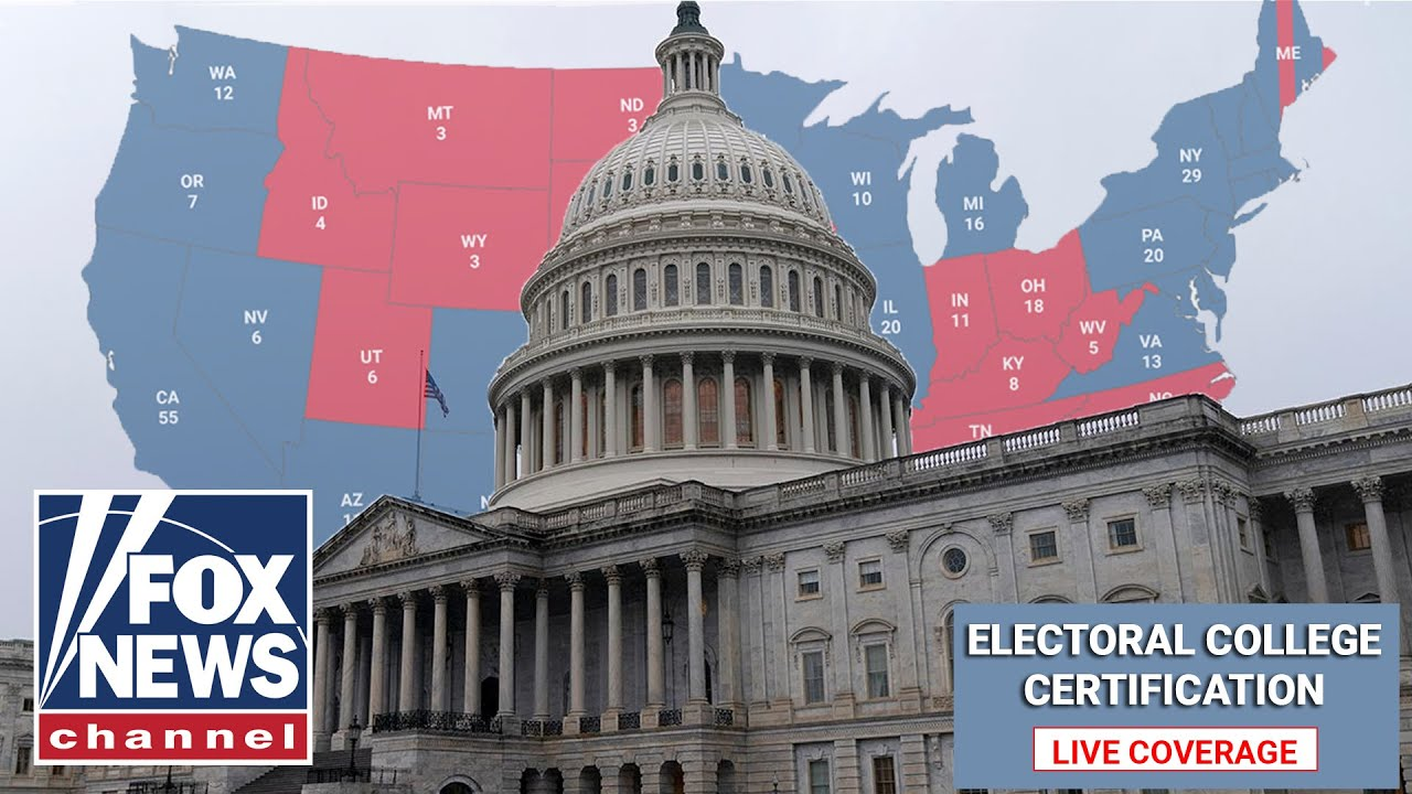 Congress meets to certify the Electoral College vote