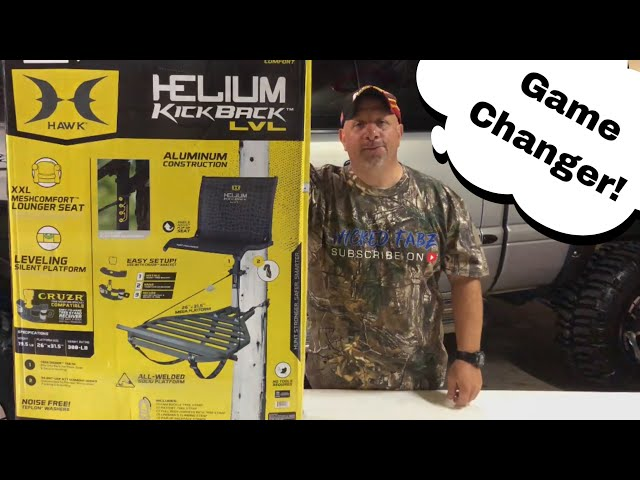 Unboxing Of The Hawk Helium Kickback Tree Stand