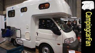 【ジュニアリボーン】エアコンや温水シャワー、大容量発電機で家庭の環境を実現したライトキャブコン Japanese Campingcar Motorhome