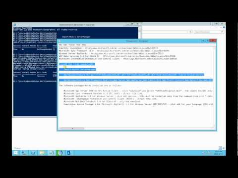 Sysadmin First Time - Install SharePoint 2013 on Server 2012 R2