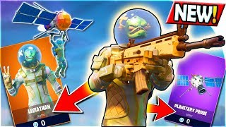 NEW LEGENDARY LEVIATHAN SKIN + PLANETARY PROBE GLIDER Gameplay (How to FREE) Fortnite Battle Royale!