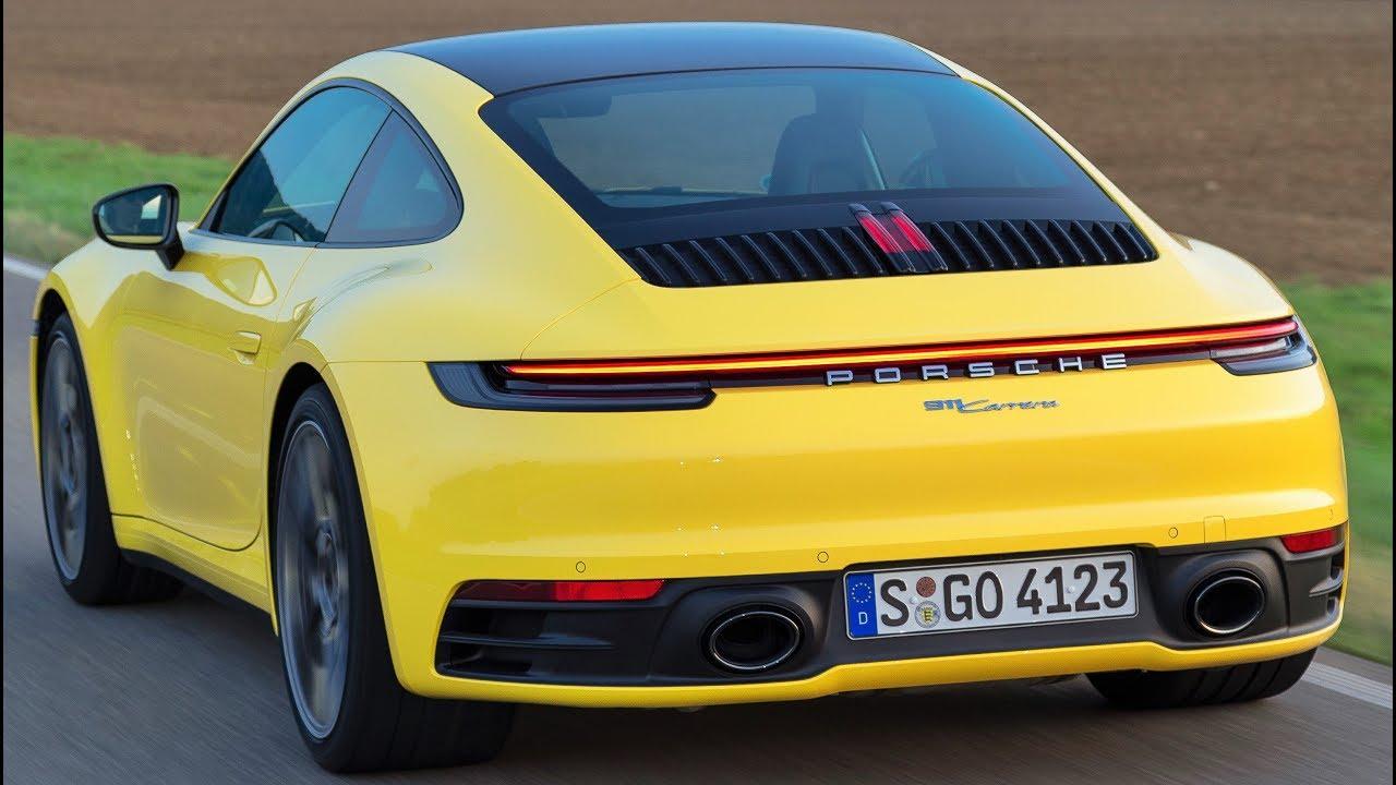 2020 Porsche 911 Carrera Concept and Review