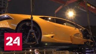 Смотреть видео Устроенное Lamborghini
