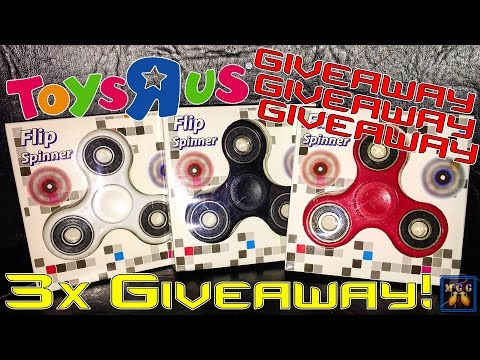 3x ToysRUs Fidget Spinner Giveaway