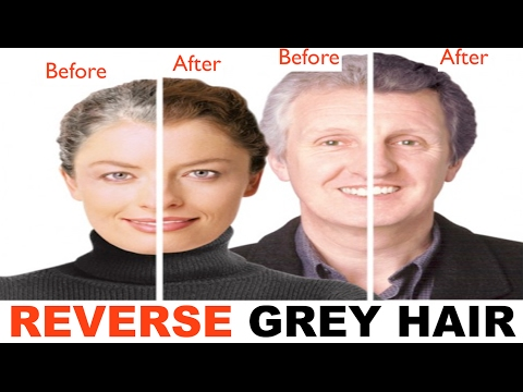 This is the real scientific reason why your hair is turning grey / How to reverse grey hair