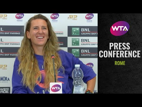 Victoria Azarenka 'I played smart tennis today' | 2020 Rome Post-Match Interview