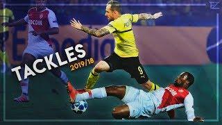 Crazy Tackles & Defensive Skills in Football ● 2019 | HD