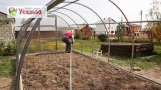 Сборка теплицы из поликарбоната usadba33.ru(На видео подробно показана сборка Теплицы