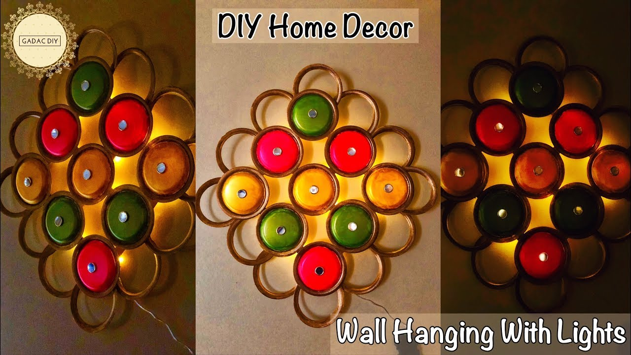 Wall Hanging Ideas Diy Wall Hanging Craft Ideas Very Easy Diy Wall Decor 2018 Diy Wall Hanging