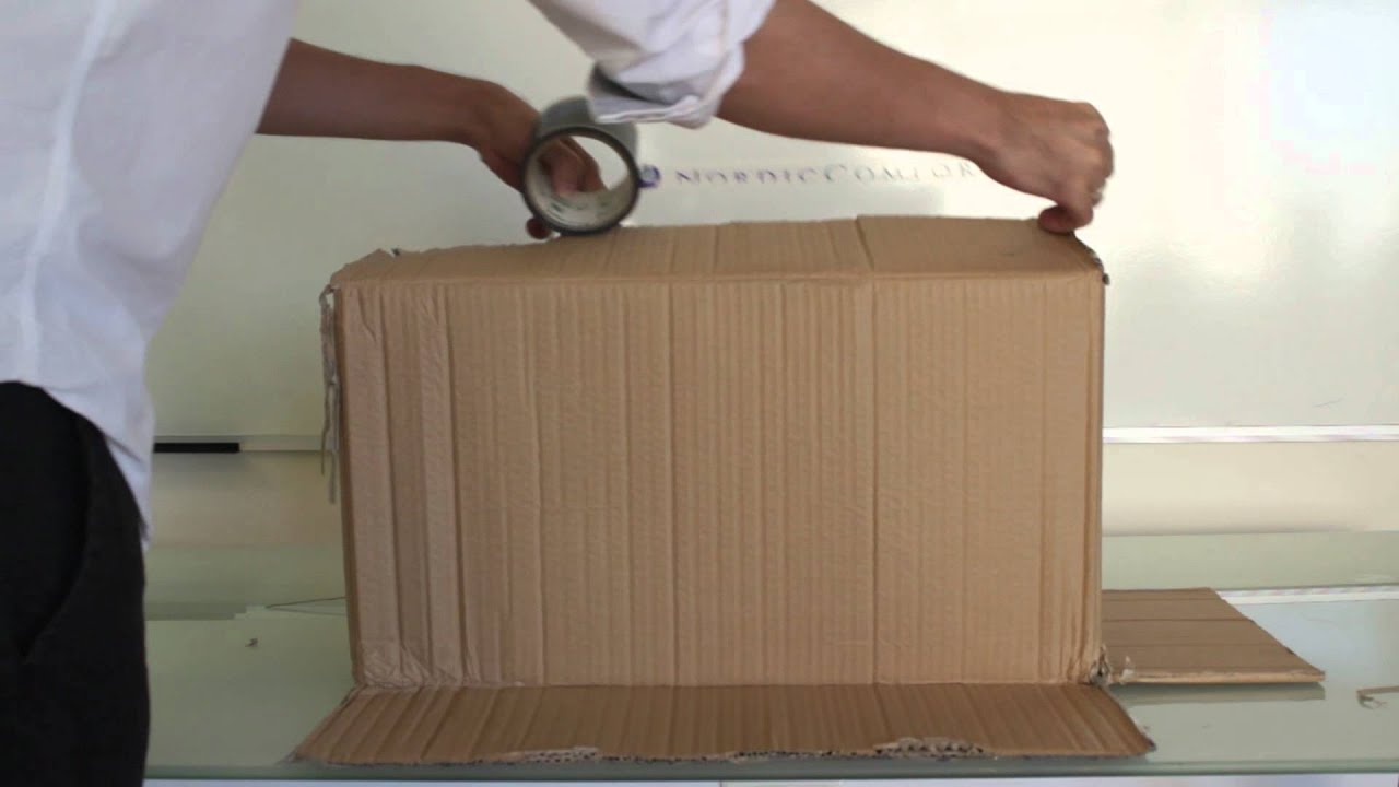 How To Recycle A Cardboard Box Sensetalks Youtube