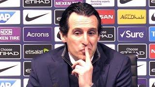 Manchester City 3-1 Arsenal - Unai Emery Full Post Match Press Conference - Premier League