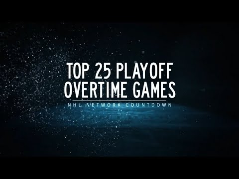 NHL Network Countdown: Top Playoff Overtime Games
