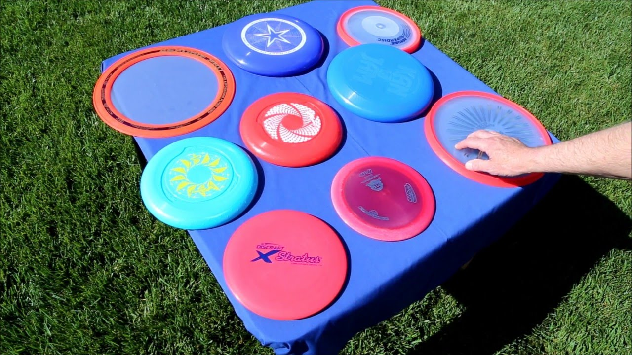 What Is The Best Frisbee For Backyard Throwing - YouTube