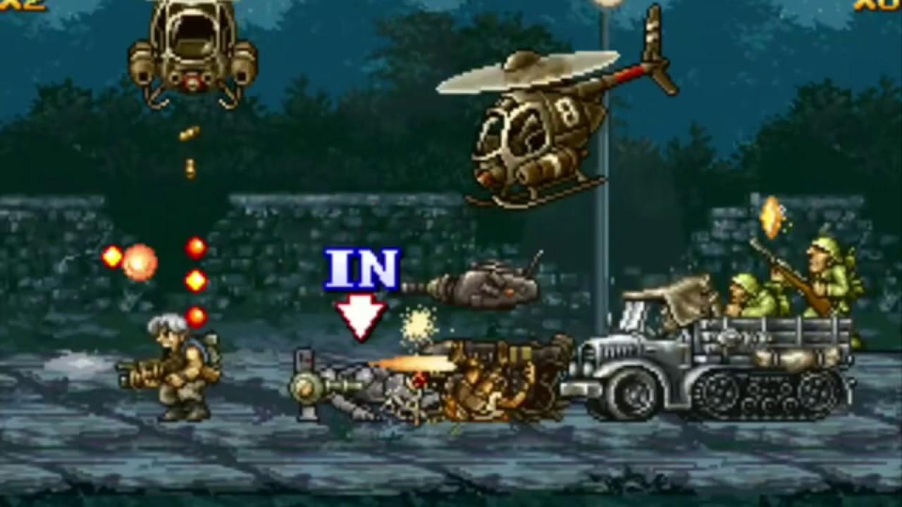 game metal slug 4 2 player