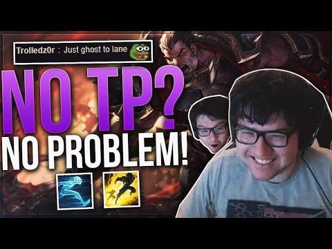 DYRUS • NO TP? NO PROBLEM! | THE MANLIEST DARIUS BUILD!!