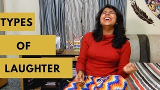 TYPES OF LAUGHTER | GIRL BOSS | LAUGHTER CHALLENGE