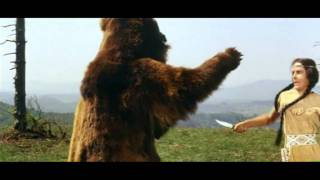Winnetou fights a bear (Winnetou Bärenkampf)