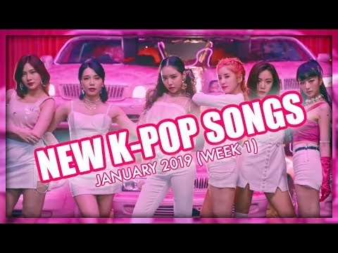 NEW K-POP SONGS | JANUARY 2019 (WEEK 1) Mp3