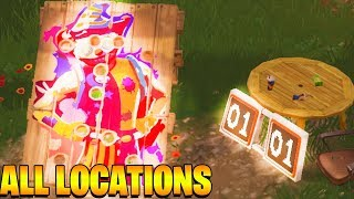 GET A SCORE OF 10 OR MORE ON DIFFERENT CARNIVAL CLOWN BOARDS *ALL LOCATION* FORTNITE CHALLENGES