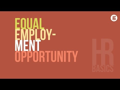 HR Basics: Equal Employment Opportunity