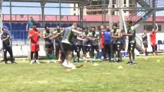 Futbolcular Kolbastı Şov