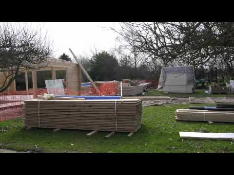 how our indoor swimming pool was built! - youtube