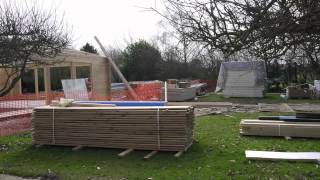 How our indoor swimming pool was built!