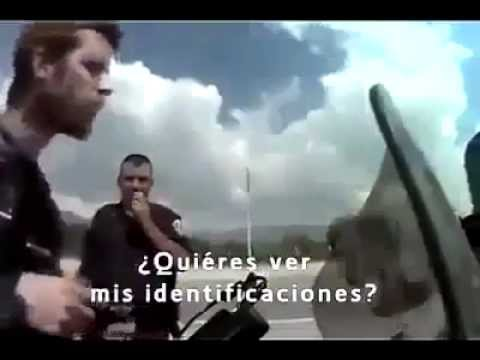 Mexican police asking for bribery