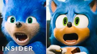 All The 39Sonic The Hedgehog39 Design Changes They Made For The Live Action Film  Pop Culture Decoded