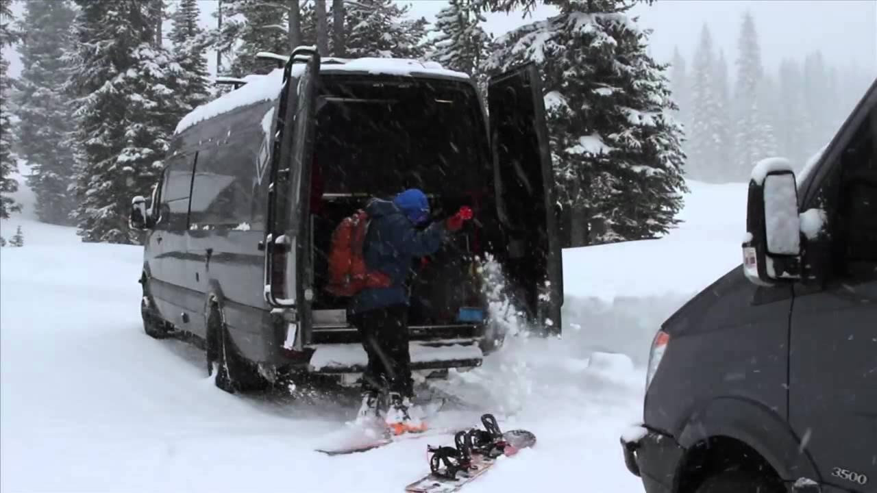Osv Winter Retreat 170 3500 Mercedes Benz Sprinter Youtube