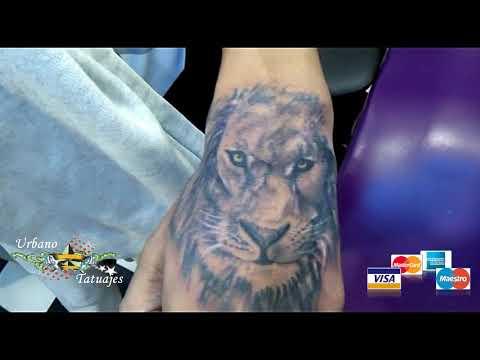 Urbano Tatuajes Leon Mano Youtube