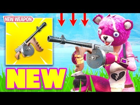 NEW DRUM GUN ITEM UPDATE COMING SOON TO FORTNITE BATTLE ROYALE!!