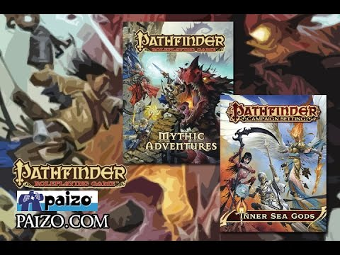 Game Geeks #241 Pathfinder Inner Sea Gods and Mythic Adventures