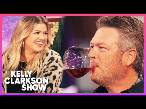 Kelly & Blake Shelton's Hilarious Wine Tasting