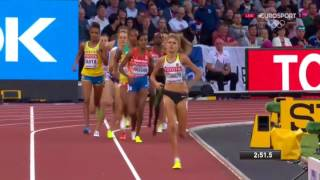1,500 Women Heat 2 World Championships London 2017