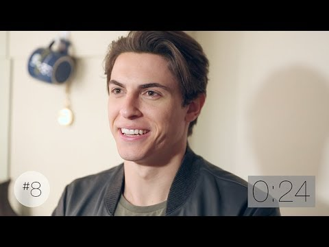 20 Questions in 2 Minutes with Anastasia Star Derek Klena