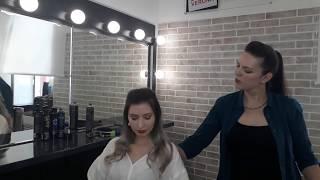 [Уроки причесок] Виктория Григорьева -укладка с плетением косы