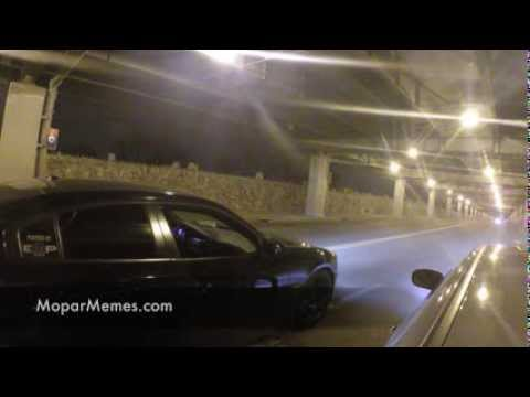 Police (NYPD) Stop Street Race Before It Happens - Mopar 11 Dodge Charger RT vs Dodge Magnum RT