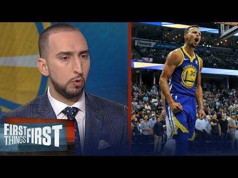 Steph Curry, Kevin Durant ejected against the Grizzlies - Nick Wright reacts | FIRST THINGS FIRST