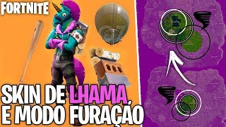 LHAMA SKIN, BALLOON GLIDER AND FURING MODE AT FORTNITE?! Concept