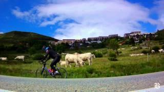 Biking the famous climbs of the Tour de France