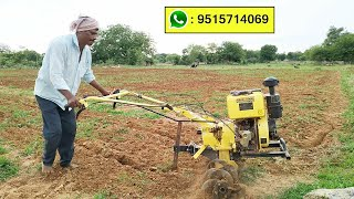 kisankraft 400d Diesel Cultivator || Agriculture Machinery in indian Agriculture || power weeders