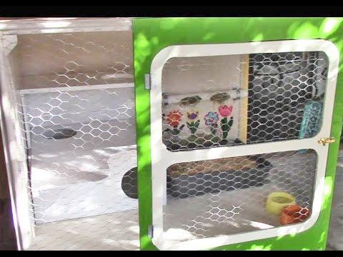 Conejos jaula casa limpieza y madriguera youtube - Casa conejo ...