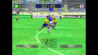 Virtua Striker 2 - Gameplay Dreamcast HD 720P
