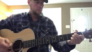Neon Church-Tim McGraw (guitar lesson) (chords in description) Video
