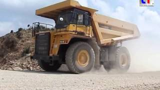 **TOUGH WORK** Komatsu HD605 Dump Truck, Quarry / Steinbruch, Germany, 2007.
